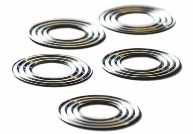 The benefits of corrugated semi-metallic gaskets are their very good mechanical durability and thermal conductivity