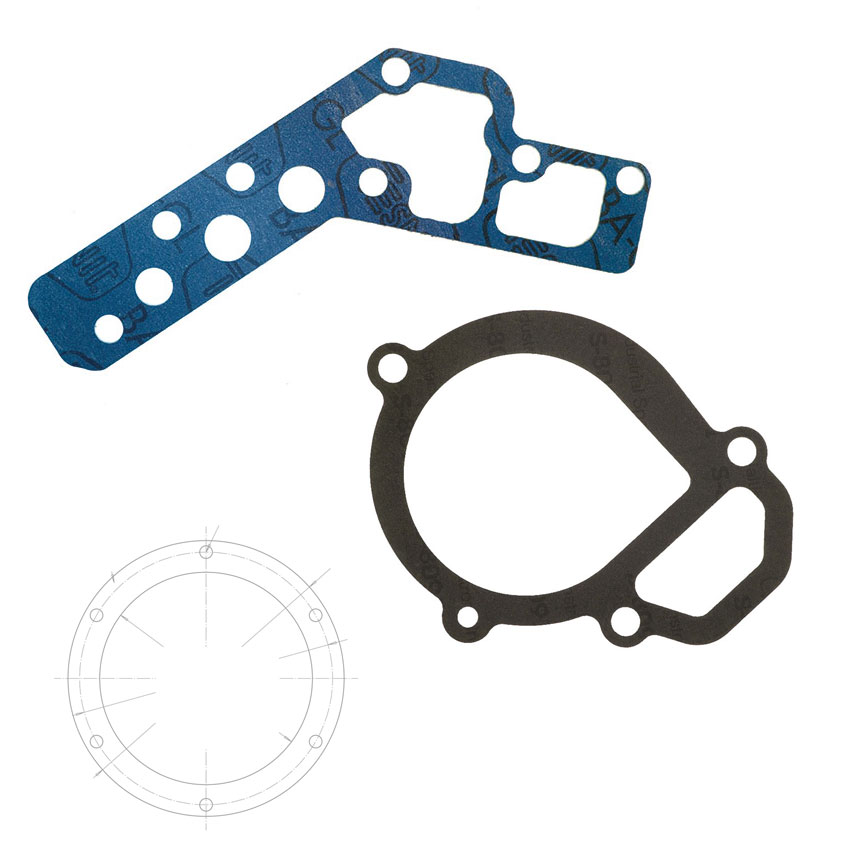 Gasket Manufacturing Based on Customer Drawings or Models