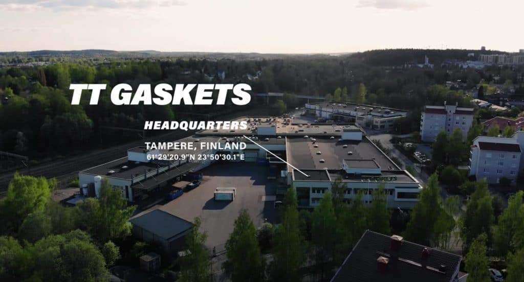 TT Gaskets Tampere Headquarters – A Birds Eyeview of the Factory Expansion