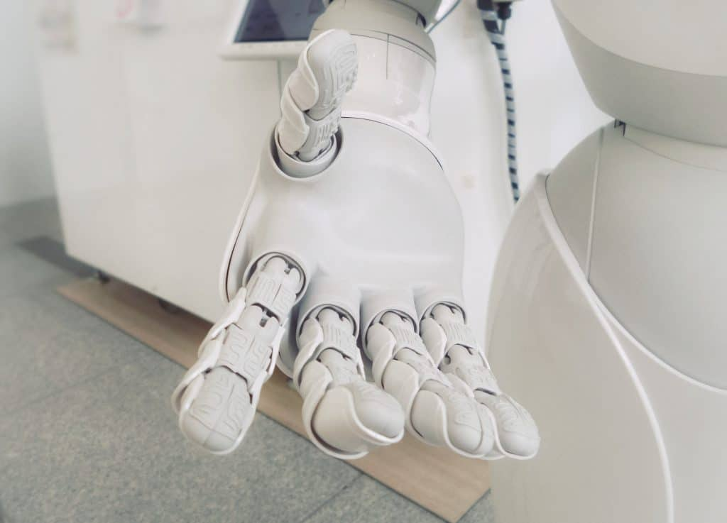 Robots are gradually replacing human labor